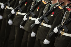 Militär Royaltyfri Bild
