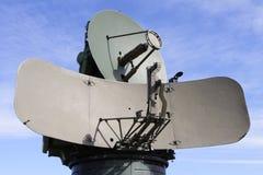 Militär antenn Arkivbild