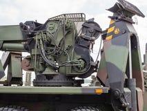Militär bärgningsbil Royaltyfri Bild