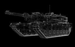 Militär behållare Arkivbilder