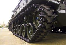 Militär behållare Arkivbild
