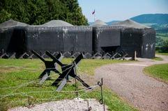 Militär bunker Royaltyfria Bilder