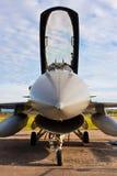 Militär Canopy för stråle F-16 Royaltyfri Foto