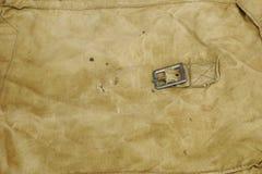 Militär eller för tygbakgrund för armé grov textur Arkivfoto
