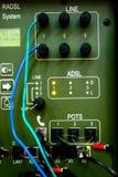 militär för kommunikationsapparat Fotografering för Bildbyråer