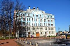 Militär-flotta högskola till namn av Nakhimov Arkivfoto