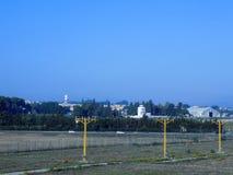 Militär flygplats royaltyfri bild