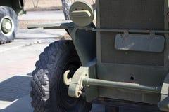 militär gammal lastbil arkivfoto