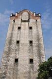 militär gammal sydlig watchtower för porslin Arkivfoton