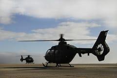 Militär helikopter royaltyfri bild