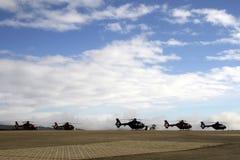 Militär helikopter royaltyfri foto