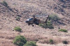 Militär helikopter Arkivfoto