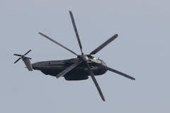 Militär helikopter Sikorsky CH-53 GA Arkivfoto