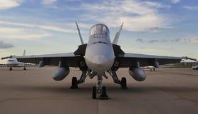 Militär-Hornisse F/A-18 Lizenzfreies Stockbild