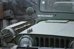 Militär jeep Fotografering för Bildbyråer