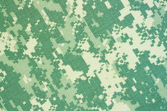 Militär kamouflagebakgrund Arkivbild