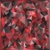 Militär kamouflagebakgrund för abstrakt vektor som göras av geometriska triangelformer Polygonal stil Royaltyfri Bild