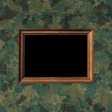 Militär kamouflagemodell Fotografering för Bildbyråer