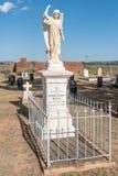 Militär kyrkogård på Springfontein Royaltyfri Fotografi