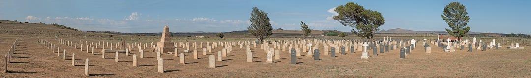 Militär kyrkogård på Springfontein Fotografering för Bildbyråer