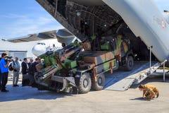 Militär last Royaltyfri Foto