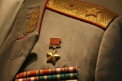 Militär likformig Arkivfoto