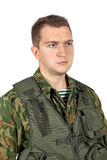 Militär militärstående Royaltyfria Foton