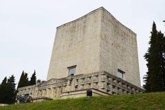 Militär minnes- monument, Nervesa della Battaglia Royaltyfria Foton