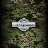 Militär modellbakgrund för kamouflage vektor Arkivbilder