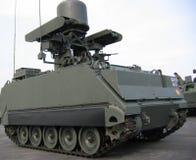 Militär - Nahaufnahme des Tankwagens Lizenzfreie Stockfotos