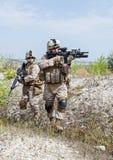 Militär operation Arkivbilder