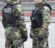 militär polis Royaltyfri Foto