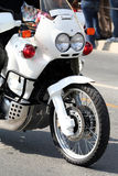 militär polis för cykel Royaltyfri Fotografi