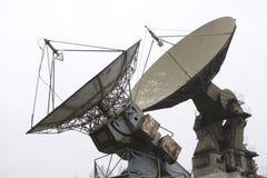 militär radar Arkivfoto