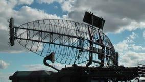 Militär radar lager videofilmer