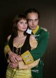 militär romantisk service royaltyfri fotografi