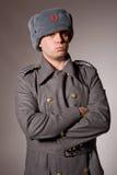 militär ryss Fotografering för Bildbyråer