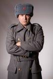 militär ryss Royaltyfri Fotografi