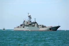 militär ship Arkivbilder
