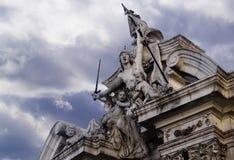 Militär skulptur Royaltyfri Foto