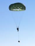 Militär springt Stockfotografie