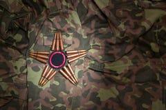 militär stjärna Fotografering för Bildbyråer