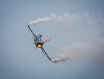Militär stråle F16 Arkivbild