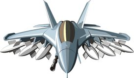 Militär stridstråle Arkivbilder