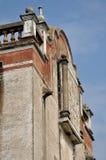 militär sydlig watchtower för forntida porslin Arkivbilder