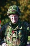 militär tjänsteman royaltyfria bilder