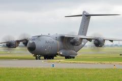 Militär transport för flygbuss A400M Arkivfoton