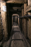 Militär tunnel Arkivbilder