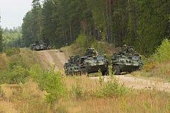 militär utbildning Royaltyfri Fotografi