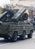 Militär utrustning royaltyfri fotografi